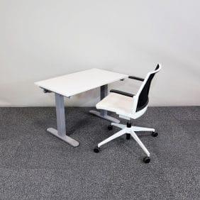 Höj-och sänkbart skrivbord