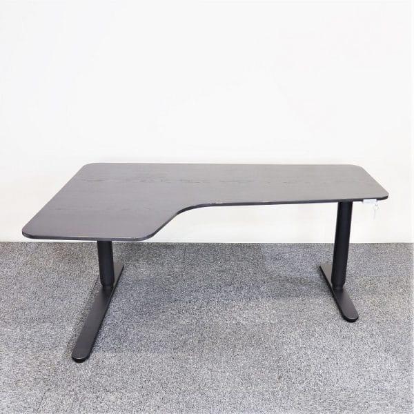 Elektriskt höj- & sänkbart Hörnskrivbord Bekant IKEA