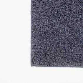 Mörkblå kvadratisk matta