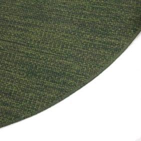 Rund matta Häggå i grönt från Kasthall