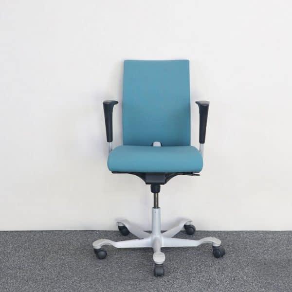 Blå kontorsstol från HÅG