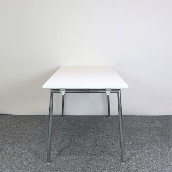 Hopfällbart bord Quickly från Lammhults i vitt