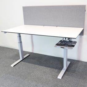 Elektriskt höj- och sänkbart skrivbord från Edsbyn